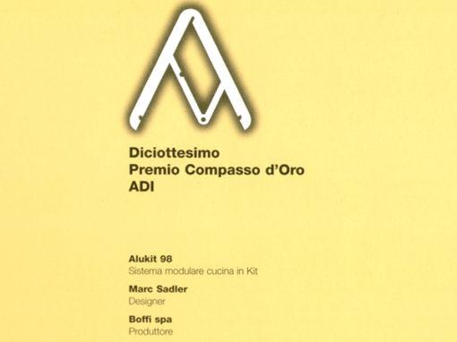 Selezione d'Onore XVIII Compasso d'Oro ADI | Alukit