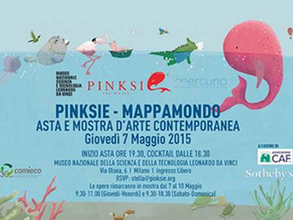 Pinksie – Mappamondo | 2015
