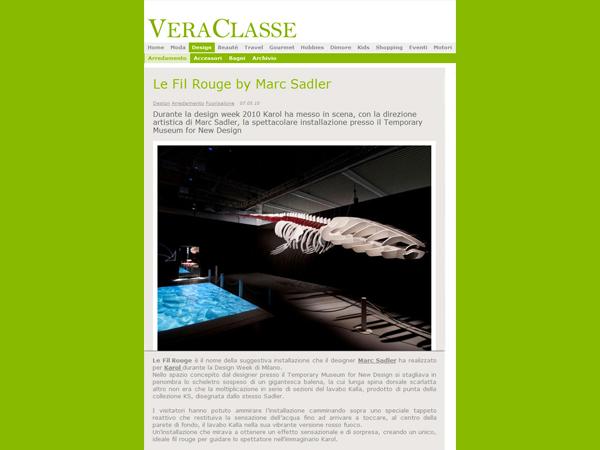 Vera Classe | Le Fil Rouge by Marc Sadler