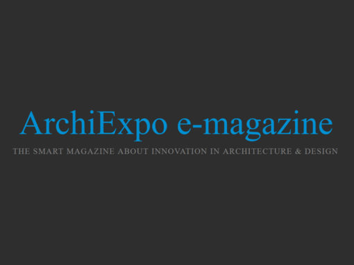 Interview ArchiExpo e-Magazine | 2018