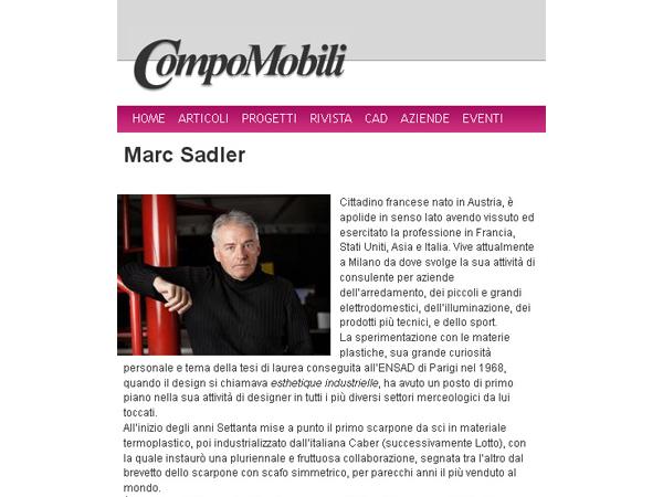 Compomobili | L'Intervista con Marc Sadler