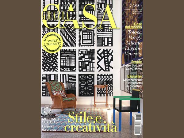 Grazia Casa | Marc Sadler, paper and pencil at hand