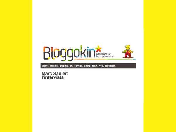 Bloggokin | Marc Sadler, l'Intervista