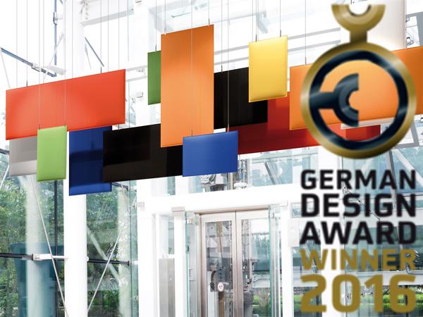 German Design Award to Baffle | 2016