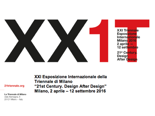 XXI Triennale di Milano | Where about us