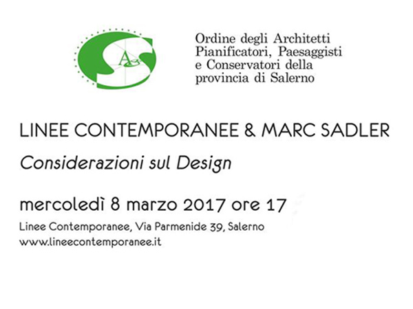 PREVIEW linee contemporanee salerno | Marc Sadler